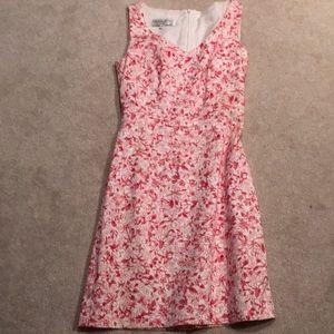 Donna Ricco print dress
